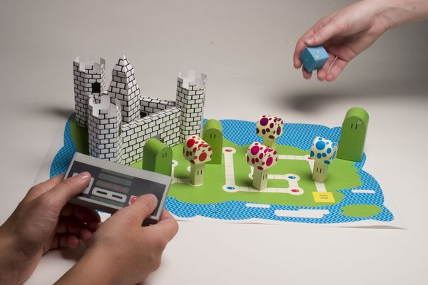Super Mario as Board game