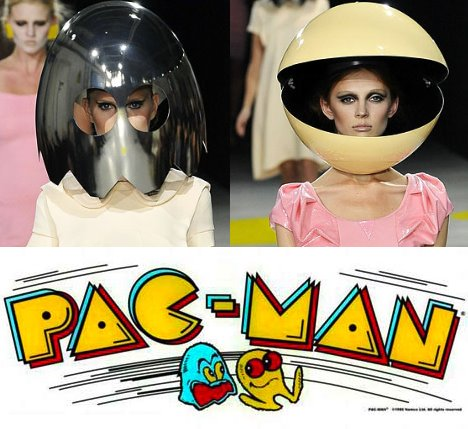 Pac Man Helm for fashion victims