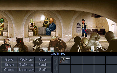 Han Solo Adventures (A Freeware Interactive Fan Fiction Project In SCUMM)