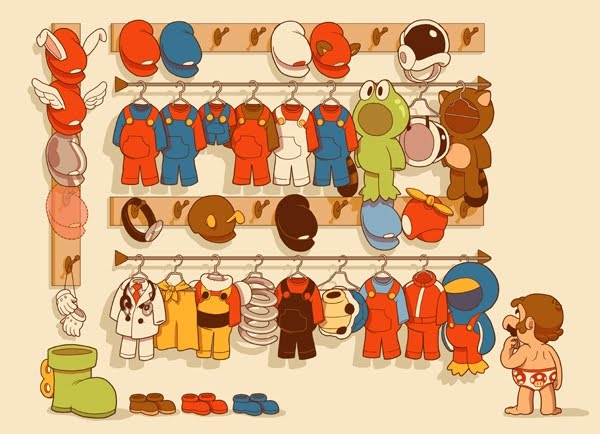 Marios Closet by Glen Brogan