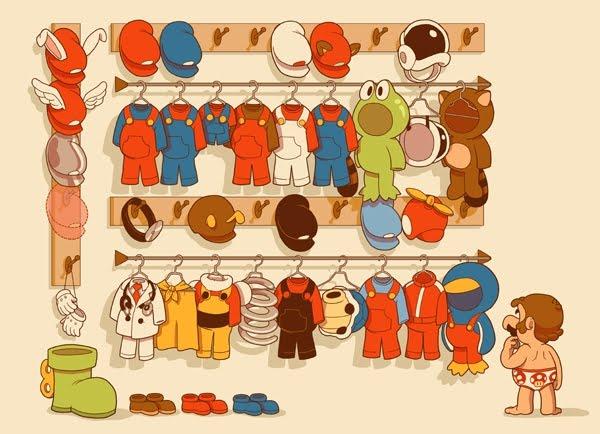 """""""Mario's Closet"""" by Glen Brogan"""