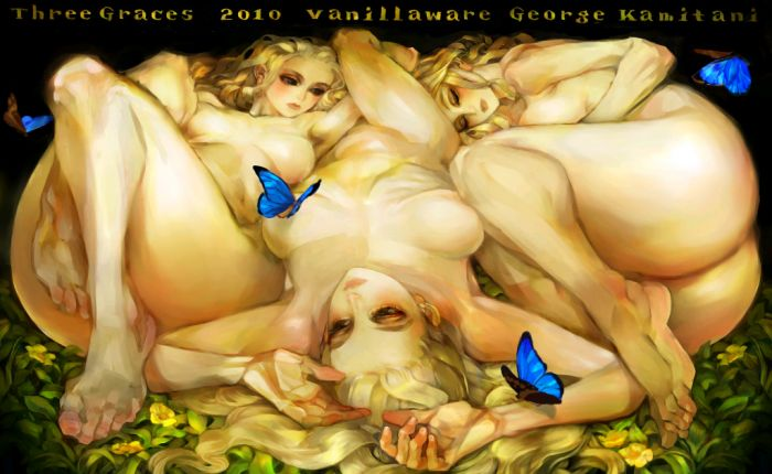 Three Graces by George Kamitani (Vanillaware next game ?)