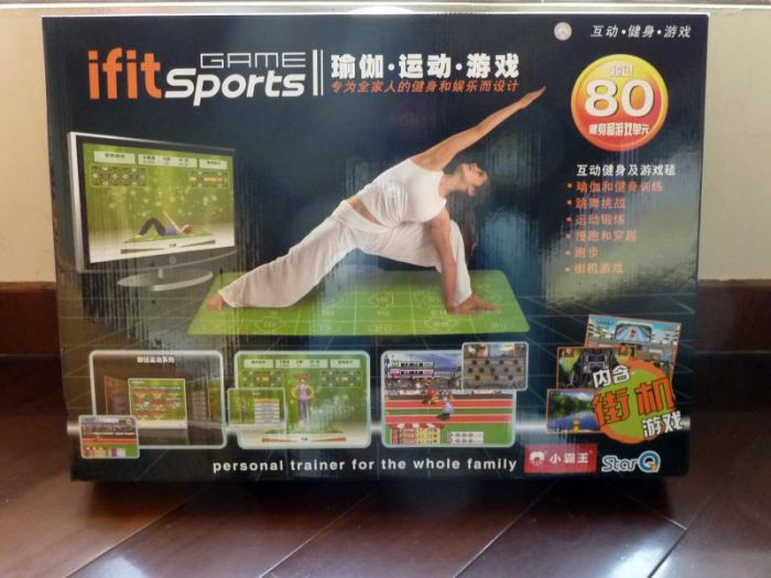 Ifit, Wii Fit non-official chinese copy