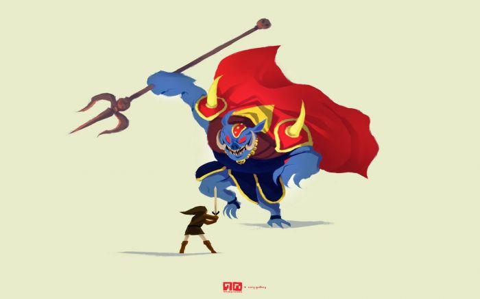 Zelda illustration by Cory Godbey