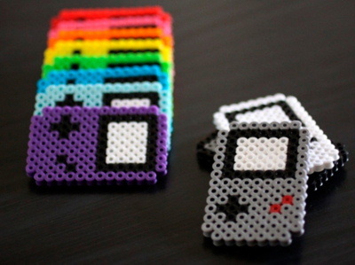Hama beads Game Boy