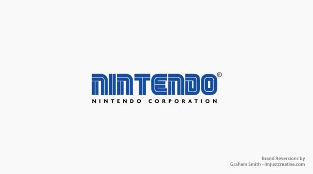 Brand reversion of the Nintendo Logo