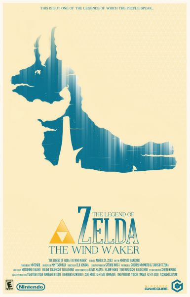 Zelda Poster by Marinko Milosevski