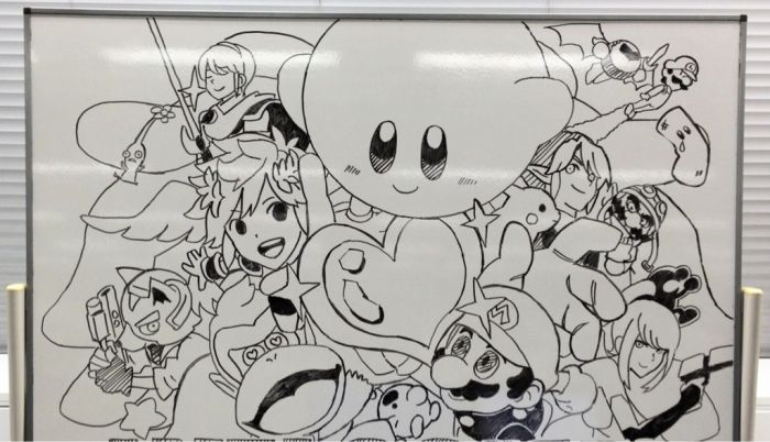 Sora's got talent ! Great drawing on whiteboard's Sora Ltd.