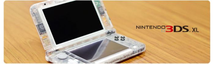 Transparent Nintendo 3DS XL
