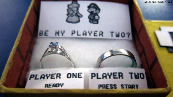 Mario-themed proposal