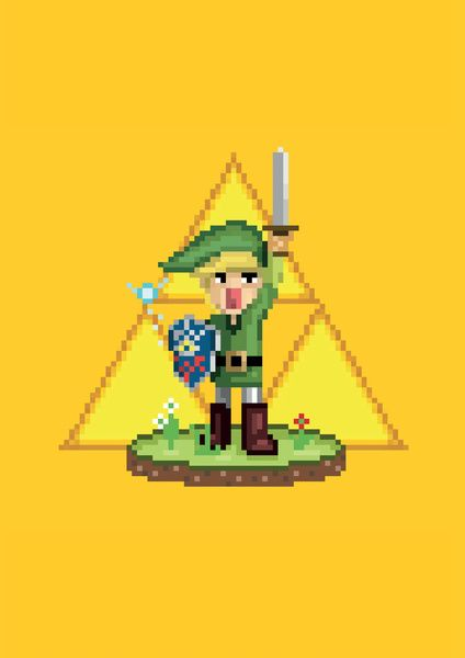 Zelda - Boy from the Forest by PixelKing