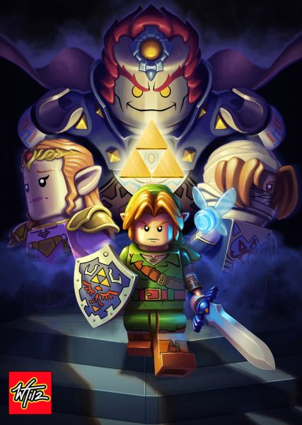 LEGO: Legend of Zelda: Ocarina of Time by ~Wes-Talbott