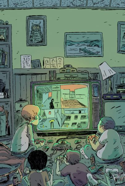 Playing Goldeneye by Zac Gorman