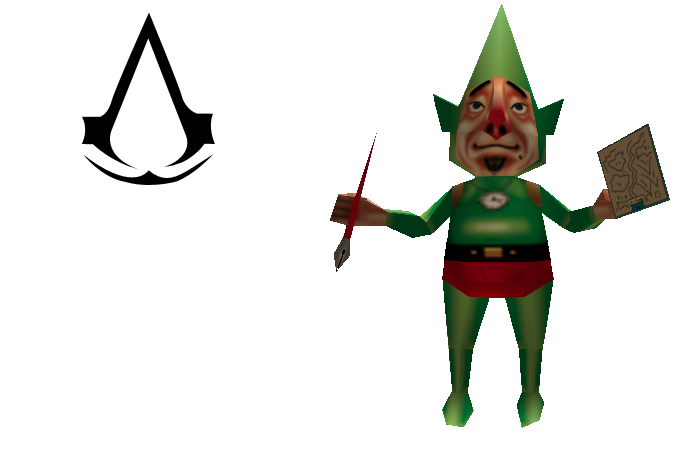 Why Assassin's Creed has Tingle as the logo