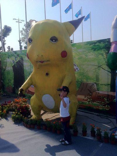 Scary Pikachu