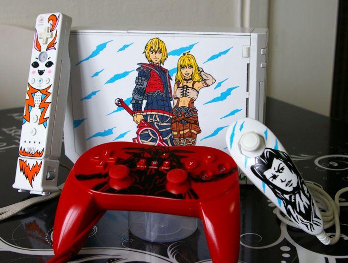 "Custom Wii ""XENOBLADE"""