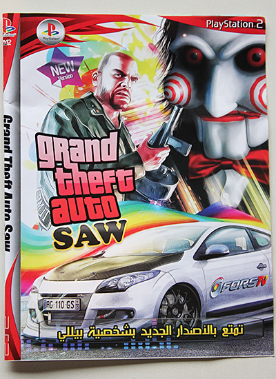 GTA: Saw, Pirate PS2 games found in Nairobi