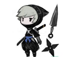 Charadesign by Akihiko Yoshida for Final Fantasy Gaiden (DS)