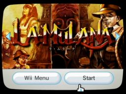 La-Mulana Channel Image on Nintendo Wii