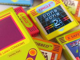 Protect Yourself In Style with these Game Boy Themed Condoms!