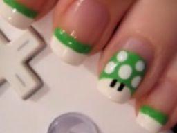 Gamer nail polish
