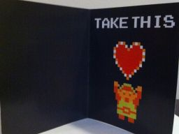 LoZ Valentine's Card