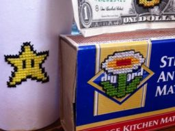 8-Bit Embroidery on Found Objects