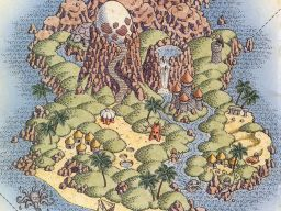 Wonderful view of Koholint (The Legend of Zelda: Link's Awakening)