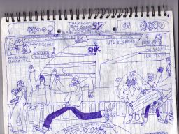 KOF '96 - ESAKA Stage by ~SUPER-JOHN-DOE