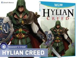 Photo: Hylian Creed ser el nuevo juego de Ubisoft para Wii U! Lanzamiento en el 1 de Abril de 2014!