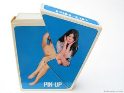 Nintendo Pin-up playing card, with a twist