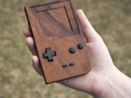 Wooden Gameboy
