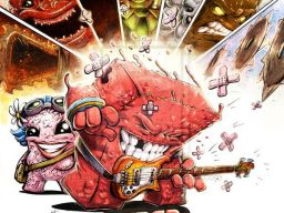 Mashup: Super Meat Boy vs. The World - Coloured by =Ben-G-Geldenhuys on deviantART