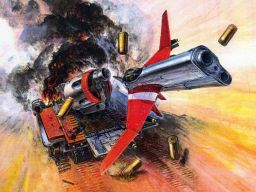 Very cool artwork for Gun Frontier, artist unknown