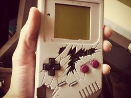 Salvage Custom Gameboy by Nate-Alig