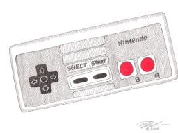 NES Controller by Alexander Jackson