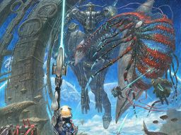 Nice Xenoblade X illustration by Kojo-Takashi via @SpriteOddity